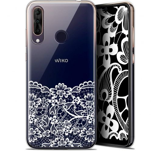 "Extra Slim Gel Wiko View 3 PRO (6.3"") Case Spring Bas dentelle"