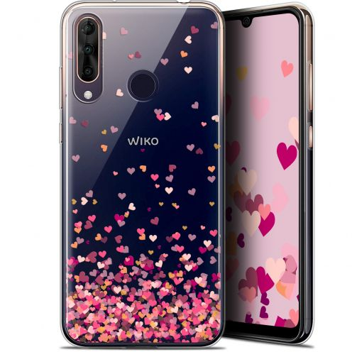 "Extra Slim Gel Wiko View 3 PRO (6.3"") Case Sweetie Heart Flakes"