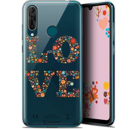 "Extra Slim Gel Wiko View 3 PRO (6.3"") Case Summer Love Flowers"
