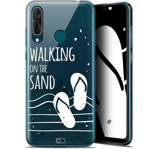 "Extra Slim Gel Wiko View 3 PRO (6.3"") Case Summer Walking on the Sand"