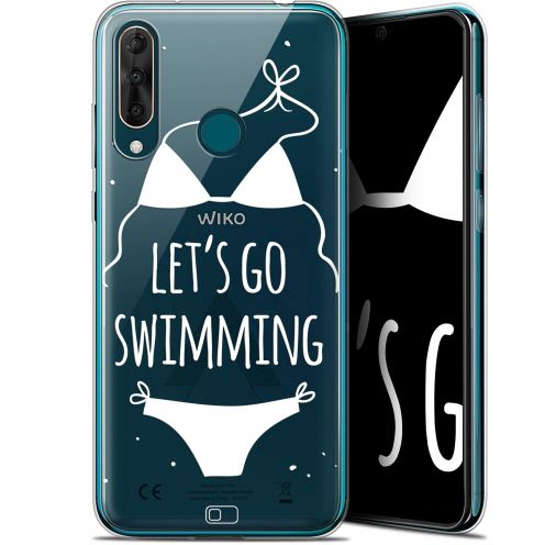 "Extra Slim Gel Wiko View 3 PRO (6.3"") Case Summer Let's Go Swim"