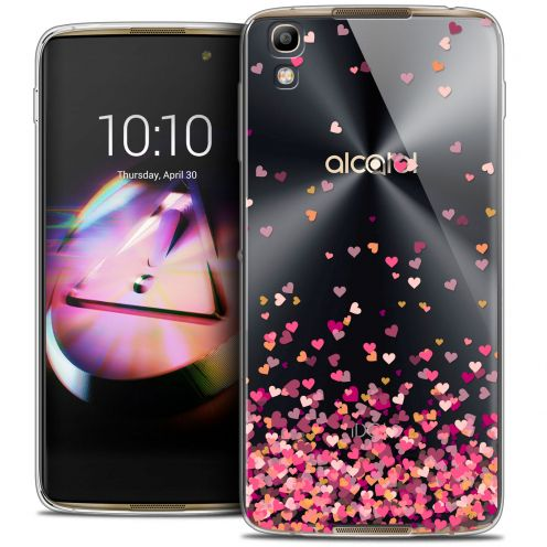 Extra Slim Crystal Gel Alcatel Idol 4 Case Sweetie Heart Flakes