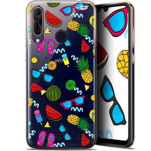 "Extra Slim Gel Wiko View 3 PRO (6.3"") Case Design Summers"