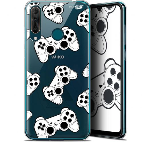 "Extra Slim Gel Wiko View 3 PRO (6.3"") Case Design Game Play Joysticks"