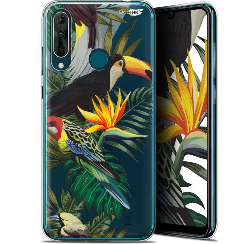 "Extra Slim Gel Wiko View 3 PRO (6.3"") Case Design Toucan Tropical"