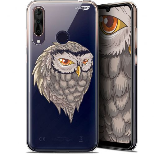 "Extra Slim Gel Wiko View 3 PRO (6.3"") Case Design Hibou Draw"