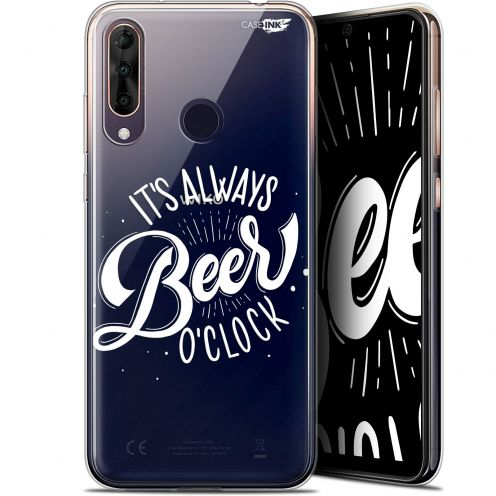 "Extra Slim Gel Wiko View 3 PRO (6.3"") Case Design Its Beer O'Clock"