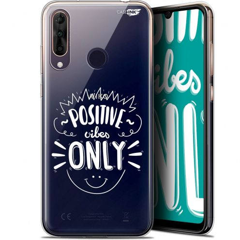 "Extra Slim Gel Wiko View 3 PRO (6.3"") Case Design Positive Vibes Only"