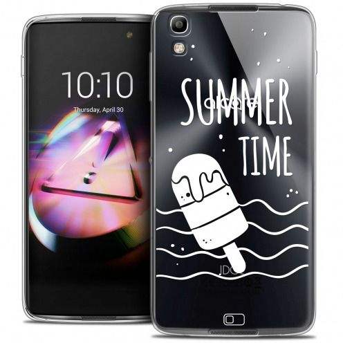 Extra Slim Crystal Gel Alcatel Idol 4 Case Summer Summer Time