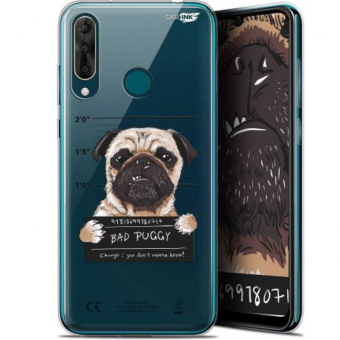 "Extra Slim Gel Wiko View 3 PRO (6.3"") Case Design Beware The Puggy Dog"