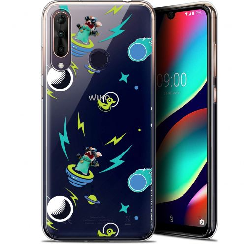 "Gel Wiko View 3 PRO (6.3"") Case Lapins Crétins™ Space 1"