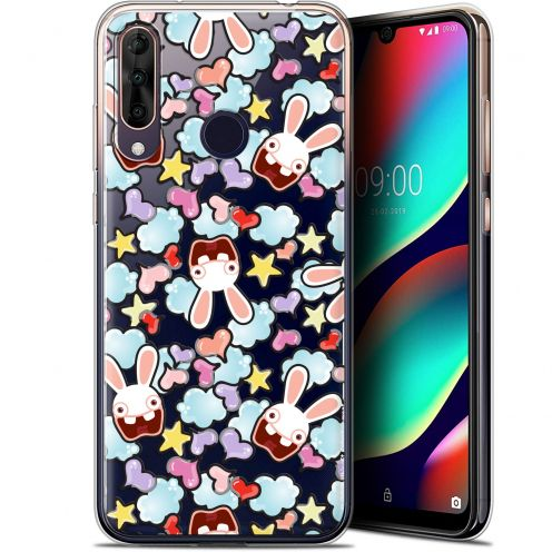 "Gel Wiko View 3 PRO (6.3"") Case Lapins Crétins™ Love Pattern"