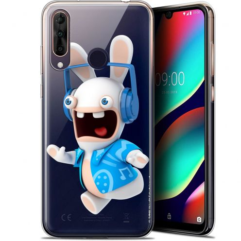 """Gel Wiko View 3 PRO (6.3"""") Case Lapins Crétins™ Techno Lapin"""