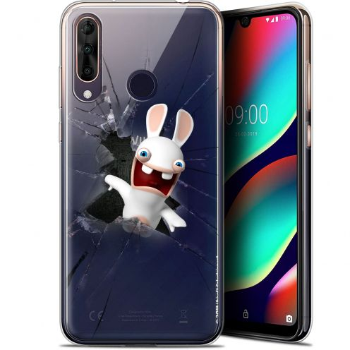 """Gel Wiko View 3 PRO (6.3"""") Case Lapins Crétins™ Breaking Glass"""