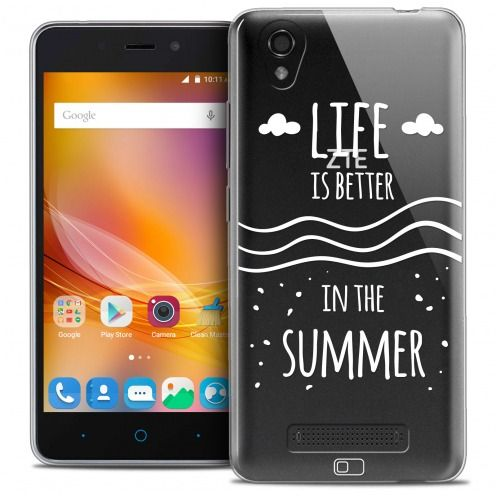 Extra Slim Crystal Gel ZTE A452 Case Summer Life's Better