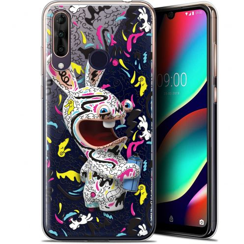 """Gel Wiko View 3 PRO (6.3"""") Case Lapins Crétins™ Tag"""