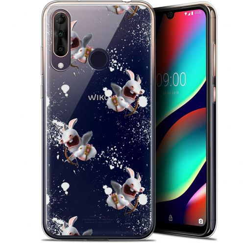 """Gel Wiko View 3 PRO (6.3"""") Case Lapins Crétins™ Cupidon Pattern"""
