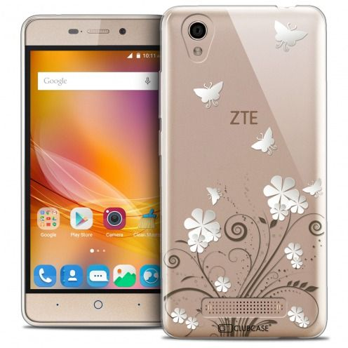 Extra Slim Crystal Gel ZTE A452 Case Summer Papillons