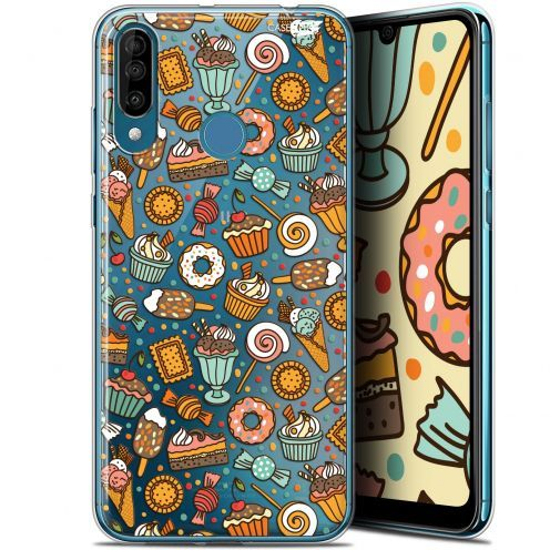 "Extra Slim Gel Wiko View 3 (6.26"") Case Design Bonbons"