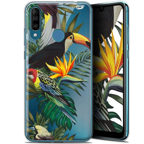 "Extra Slim Gel Wiko View 3 (6.26"") Case Design Toucan Tropical"