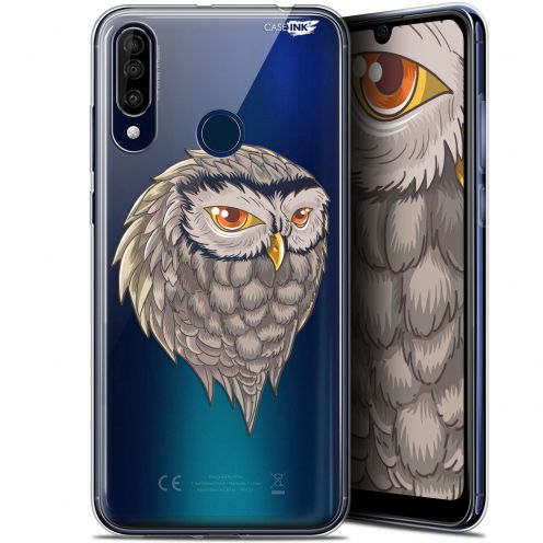 "Extra Slim Gel Wiko View 3 (6.26"") Case Design Hibou Draw"