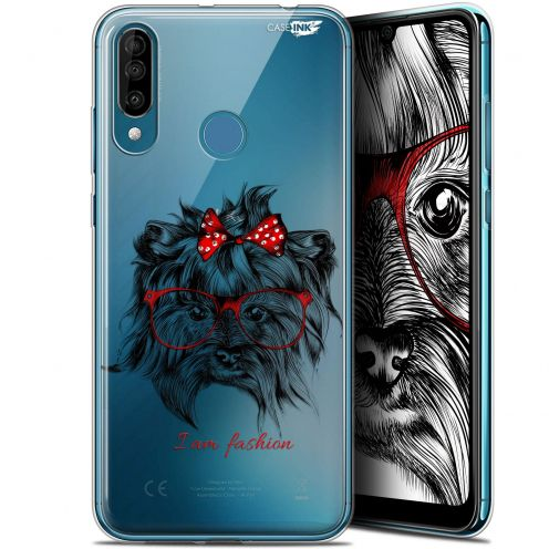 "Extra Slim Gel Wiko View 3 (6.26"") Case Design Fashion Dog"