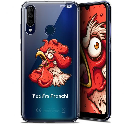"""Extra Slim Gel Wiko View 3 (6.26"""") Case Design I'm French Coq"""