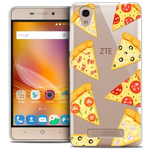 Extra Slim Crystal Gel ZTE A452 Case Foodie Pizza