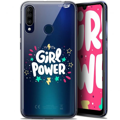 "Extra Slim Gel Wiko View 3 (6.26"") Case Design Girl Power"