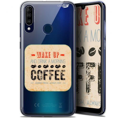 "Extra Slim Gel Wiko View 3 (6.26"") Case Design Wake Up With Coffee"