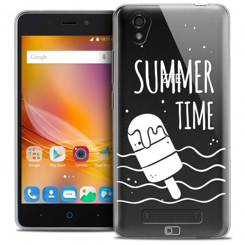 Extra Slim Crystal Gel ZTE A452 Case Summer Summer Time