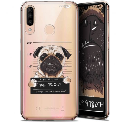 "Extra Slim Gel Wiko View 3 (6.26"") Case Design Beware The Puggy Dog"