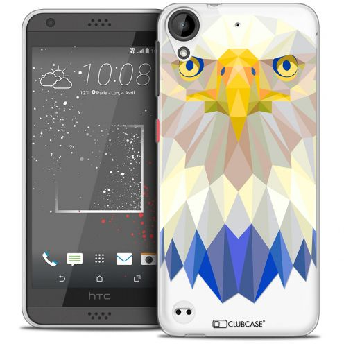 Extra Slim Crystal Gel HTC Desire 530/630 Case Polygon Animals Eagle