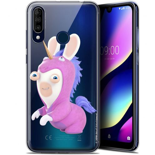 "Gel Wiko View 3 (6.26"") Case Lapins Crétins™ Licorne"