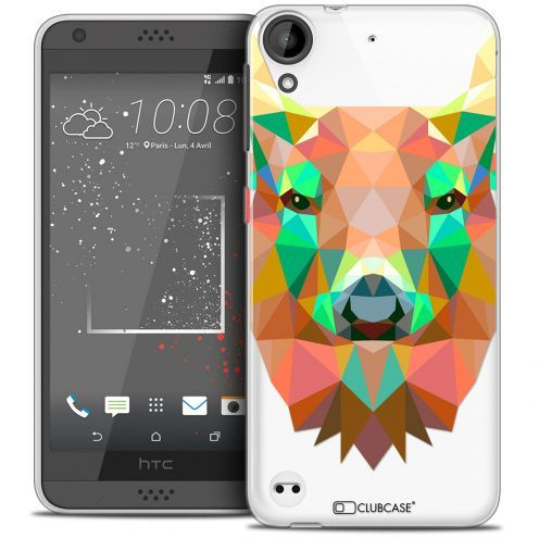 Extra Slim Crystal Gel HTC Desire 530/630 Case Polygon Animals Deer