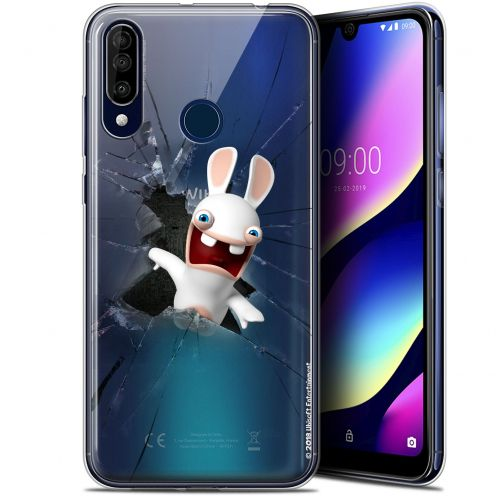 """Gel Wiko View 3 (6.26"""") Case Lapins Crétins™ Breaking Glass"""
