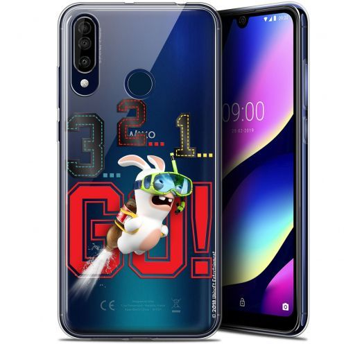 """Gel Wiko View 3 (6.26"""") Case Lapins Crétins™ 321 Go !"""