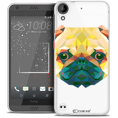 Extra Slim Crystal Gel HTC Desire 530/630 Case Polygon Animals Dog