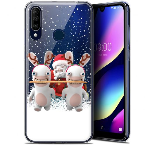 "Gel Wiko View 3 (6.26"") Case Lapins Crétins™ Lapin Traineau"