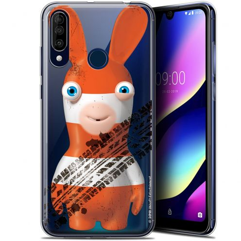 """Gel Wiko View 3 (6.26"""") Case Lapins Crétins™ On the Road"""