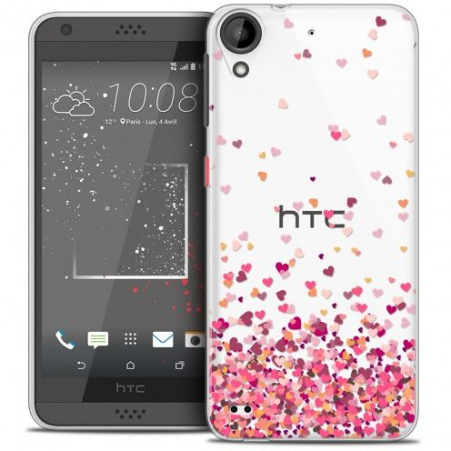 Extra Slim Crystal Gel HTC Desire 530/630 Case Sweetie Heart Flakes