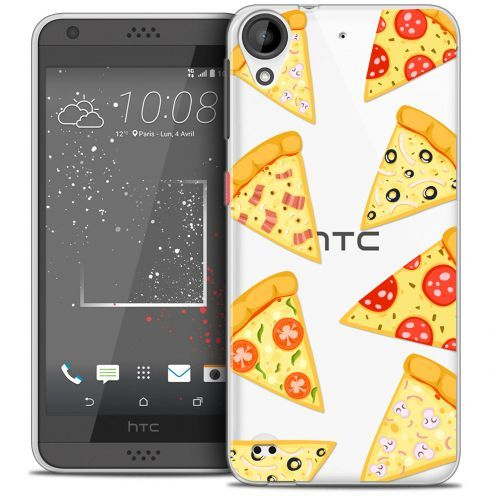 Extra Slim Crystal Gel HTC Desire 530/630 Case Foodie Pizza
