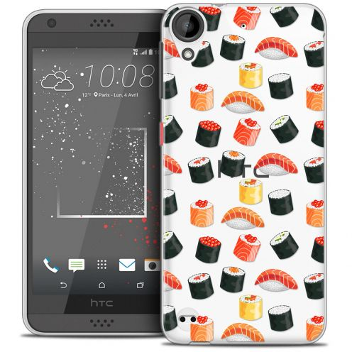 Extra Slim Crystal Gel HTC Desire 530/630 Case Foodie Sushi