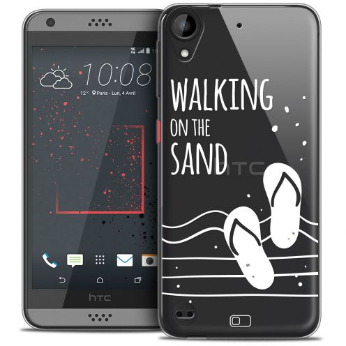 Extra Slim Crystal Gel HTC Desire 530/630 Case Summer Walking on the Sand