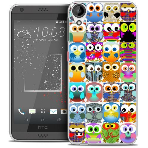 Extra Slim Crystal Gel HTC Desire 530/630 Case Claude Hibous