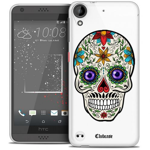 Extra Slim Crystal Gel HTC Desire 530/630 Case Skull Maria's Flower