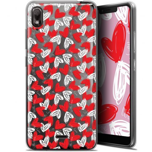 """Extra Slim Gel Wiko View 2 GO (5.93"""") Case Love With Love"""