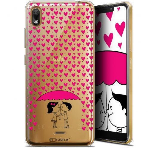 "Extra Slim Gel Wiko View 2 GO (5.93"") Case Love Pluie d'Amour"