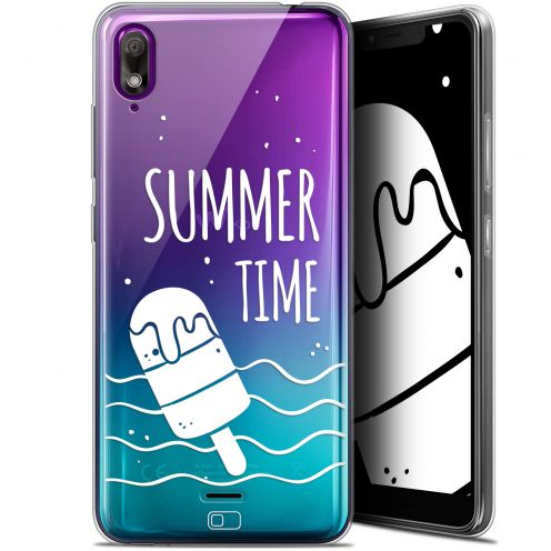 "Extra Slim Gel Wiko View 2 GO (5.93"") Case Summer Summer Time"