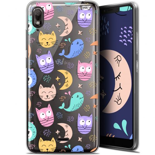 "Extra Slim Gel Wiko View 2 GO (5.93"") Case Design Chat Hibou"